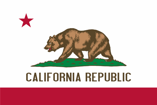 Official California State Flag