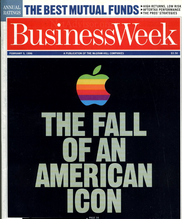 The front cover of Business Week, February 5, 1996 (Scan: NetAdvisor.org)