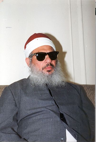 Sheikh Omar Abdel-Rahman, was behind the 1993 truck bombing of the World Trade Center in New York where 6 people were killed and 1,042 were injured.