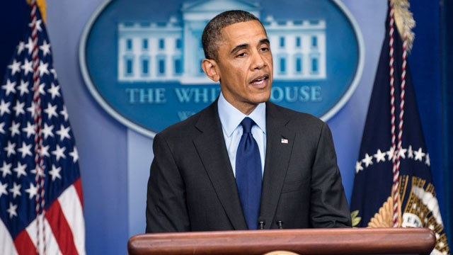"""President Obama makes a speech in Boston, MA saying the War of Terror is """"Over."""""""
