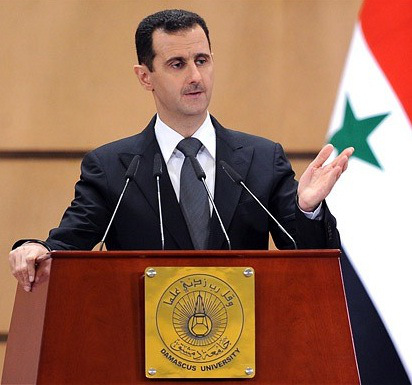 Syrian president Bashar al-Assad (Photo Source: public domain, Credit: unknown/ not cited).