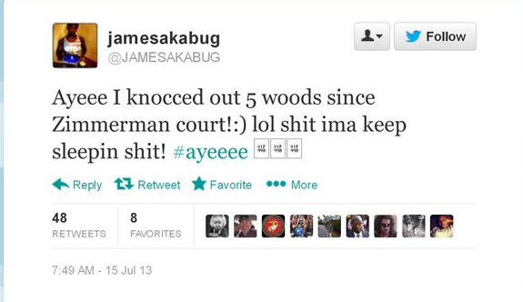 JAMESAKABUG_ Ayeee I knocced out 5 woods