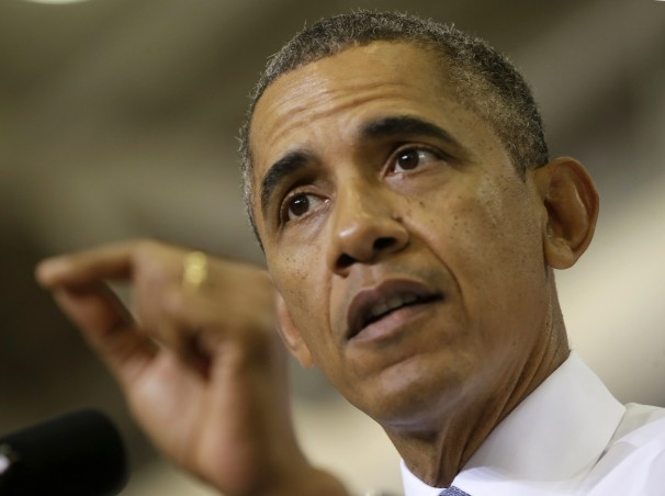 President Barack Obama speaks about the Affordable Care Act(Photo credit: Pablo Martinez Monsivais/AP)