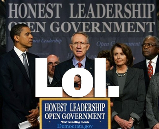 PROOF: Sen. Harry Reid (D) and President Obama Threaten Government Shutdown