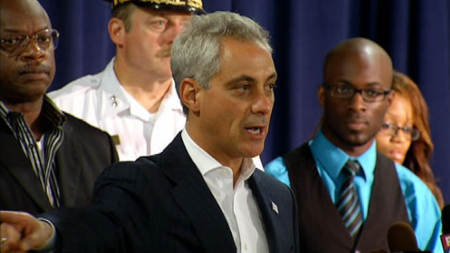 """Chicago Mayor Rahm Emanuel said on Sept. 20, 2013 that Gun Violence """"Must Come to an End."""" (Source and Image credit: NBC)"""