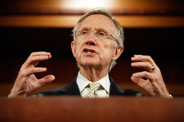 Senator Harry Reid (D-NV) Repeatedly BLOCKS Progress on Government Shutdown