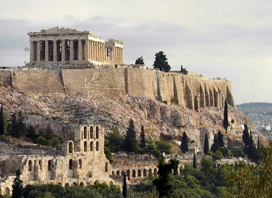 The philosopher, Socrates was targeted by his newly formed democratic government in Greece. Socrates was deemed a threat of the Greek government for verbalizing his articulate criticisms of democracy. Socrates was eventually placed on trial and executed for speaking out against democracy. Parthenon (Photo Credit - Roderick T. Long)