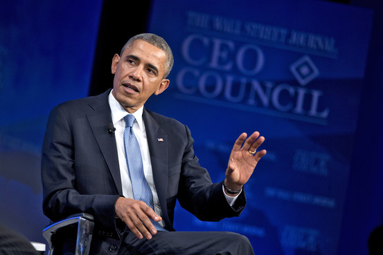 President Obama at the 2013 WSJ CEO Council