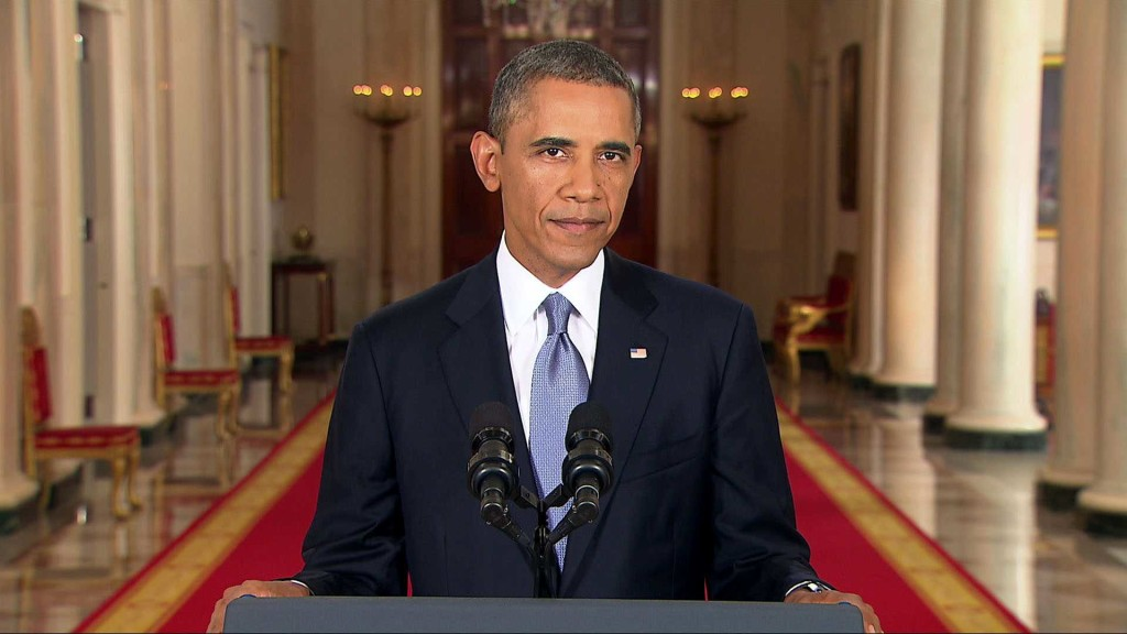 """Pres. Obama's Post 2014-Election """"Amnesty Speech"""" (Image Credit: WH photo)"""