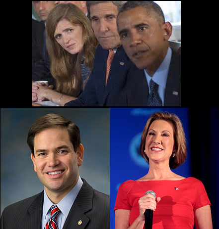 Rubio, Fiorina Seem Clueless on Syria Too?