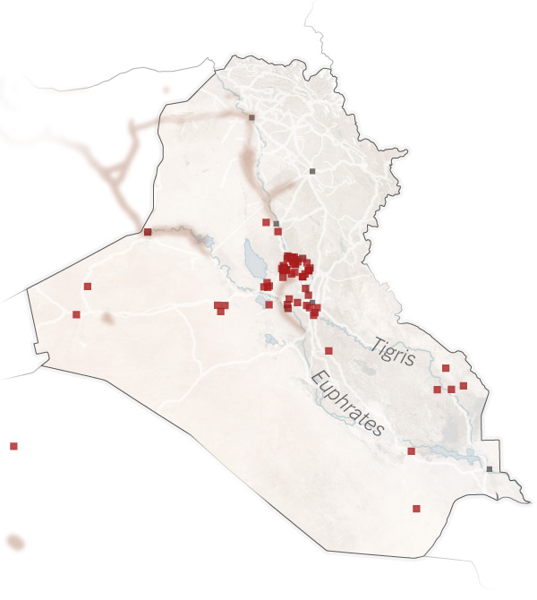 Location of Iraq's WMD's