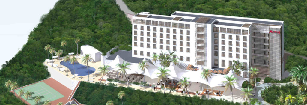 Marriott Hotel project (Haiti). Image source: ClintonFoundation.org