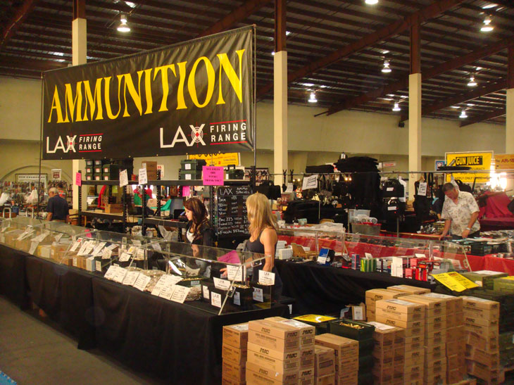 Photo of a major California based ammunition dealer and gun range located in Los Angeles. Image Credit: (c) LAX Firing Range