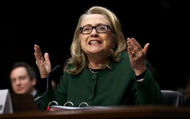 Secretary of State Hillary Clinton testified in 2013 before Congress over Benghazi terror attack where four Americans were killed.
